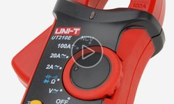 Відеоогляд компактних струмовимірювальних кліщів UNI-T UTM 1210E (UT210E)