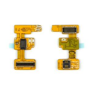 Flat Cable for LG KC910 Cell Phone, (with components)