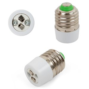 Base Adapter (E27 to GU5.3, white)
