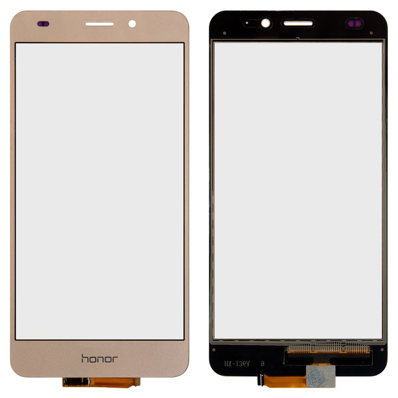 Touchscreen compatible with Huawei GT3 (NMO-L31), Honor 5C, (golden)