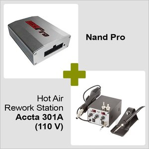Nand Pro + Hot Air Rework Station Accta 301A (110 V)