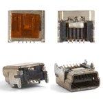 Conector de carga Blackberry 8100, 8110, 8120, 8130, 8300, 8310, 8320, 8330, 8700, 5 pin, mini-USB tipo-B