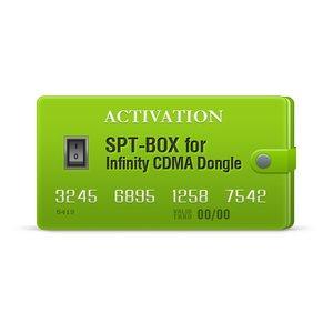 Активация SPT-Box для Infinity CDMA-Tool