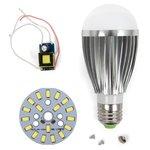Комплект для сборки светодиодной лампы SQ-Q03 9 Вт (холодный белый, E27), диммируемый