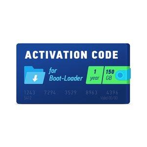 Активационный код Boot-Loader 2.0 (1 год, 150 ГБ)