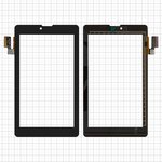 "Сенсорный экран для планшетов China-Tablet PC 7""; Beeline Tab; Prestigio MultiPad 7.0 3G (PMP3007); Texet TM-7032, 7"", 186 мм, 107 мм, 36 pin, емкостный, черный, #SG5740A-FPC_V5-1/F0899 JW KDX/SG5740A-FPC_V3"