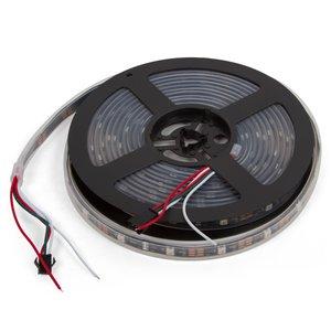 Светодиодная лента RGB SMD5050, WS2812B (c  управлением, IP67, 5 В, 30 диодов/м, 5 м)