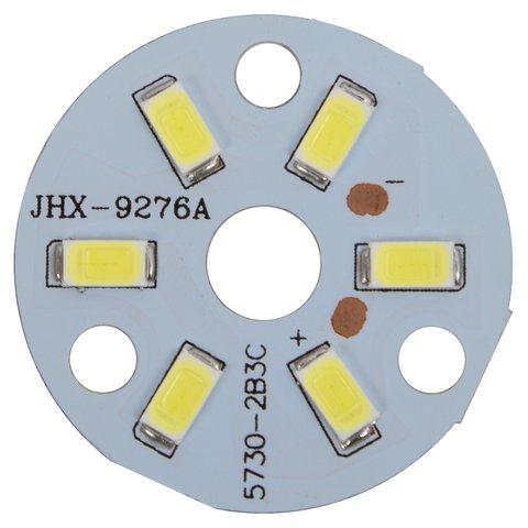 Плата зі світлодіодами 3 Вт холодний білий, 350 лм, 32 мм