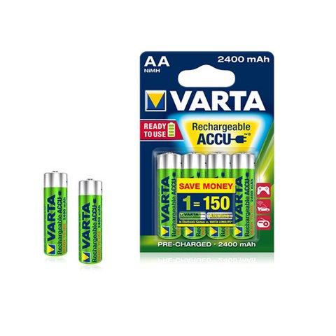 Акумуляторні батареї VARTA Ni-Mh АА R6 2400 mAh (4 шт.)
