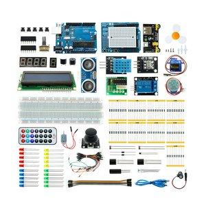 Набір для Arduino Super Starter Kit на базі UNO R3 + посібник користувача