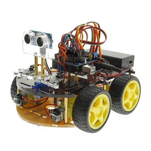 Конструктор Arduino Умная машинка с Bluetooth-управлением + руководство пользователя