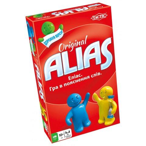 Настольная игра Tactic Alias дорожная версия (на украинском языке)