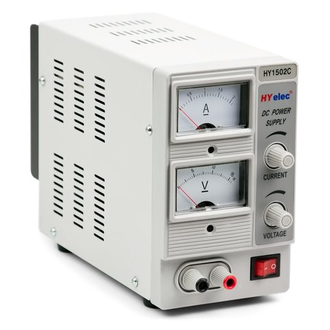 DC Power Supply HYelec HY1502C  0 15 V; 0 2 A