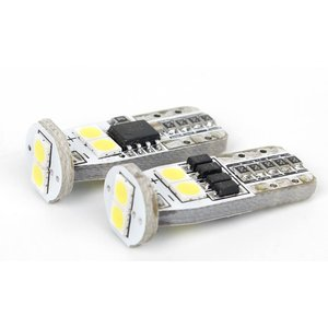 LED Parking Lamp W5W UP-2G-N6-T10-3030SMD-Canbus (white, 12-14 V)